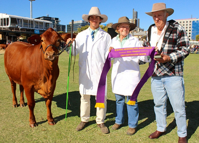 Fairibel at the Ekka 2015